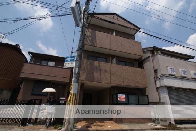 京都府京都市伏見区、淀駅徒歩4分の築18年 3階建の賃貸マンション