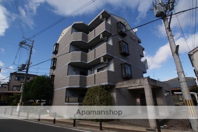 京都府城陽市、富野荘駅徒歩7分の築21年 4階建の賃貸マンション
