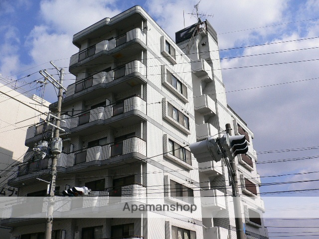 京都府京都市伏見区、桃山駅徒歩13分の築27年 7階建の賃貸マンション