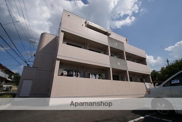 京都府宇治市、木幡駅徒歩16分の築19年 3階建の賃貸マンション
