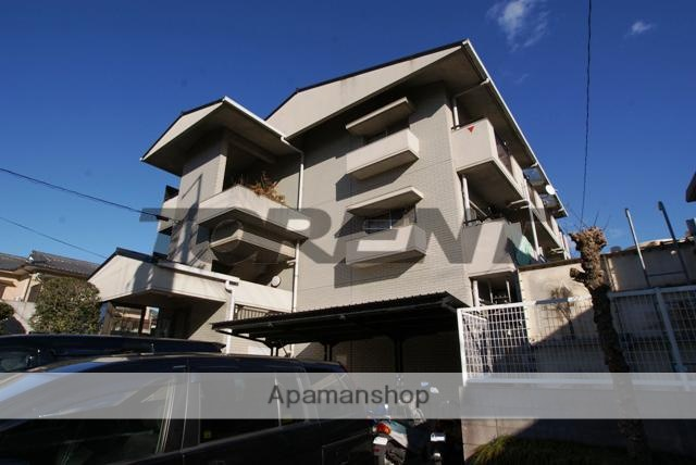 京都府宇治市、六地蔵駅徒歩12分の築28年 3階建の賃貸マンション