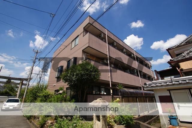 京都府宇治市、六地蔵駅徒歩8分の築22年 3階建の賃貸マンション