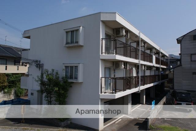 京都府宇治市、三室戸駅徒歩8分の築23年 3階建の賃貸マンション
