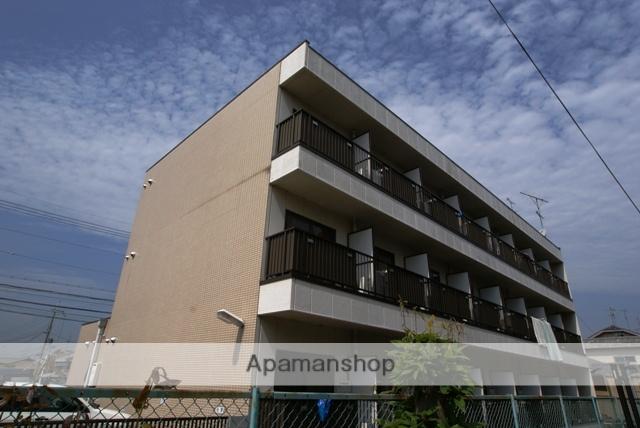 京都府宇治市、黄檗駅徒歩12分の築24年 3階建の賃貸マンション