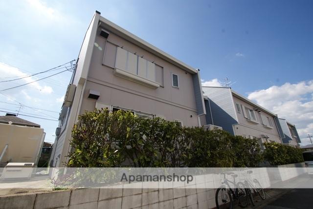 京都府宇治市、JR小倉駅徒歩15分の築28年 2階建の賃貸アパート