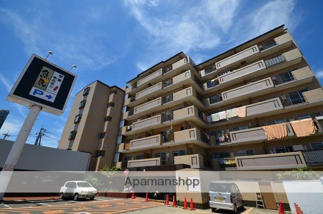 京都府宇治市、宇治駅徒歩2分の築33年 7階建の賃貸マンション