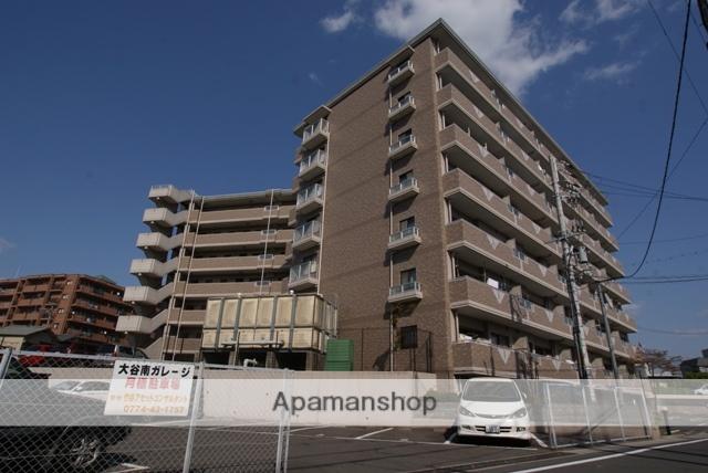 京都府宇治市、小倉駅徒歩14分の築17年 7階建の賃貸マンション
