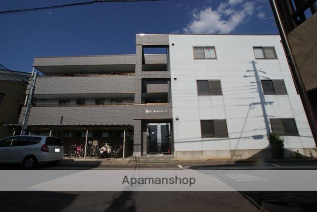 京都府宇治市、黄檗駅徒歩2分の築15年 3階建の賃貸マンション