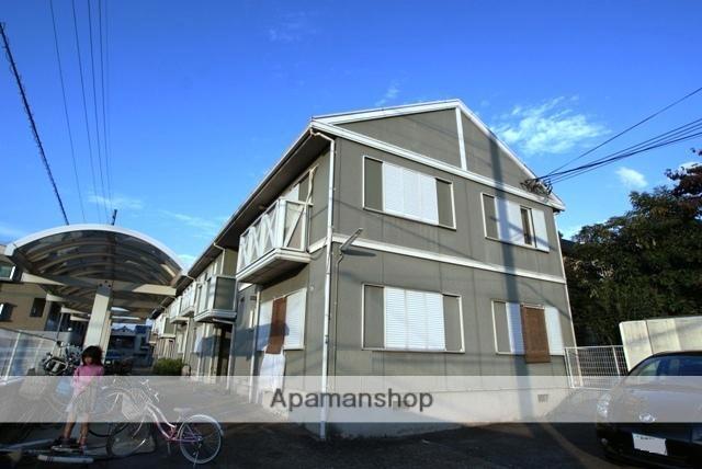 京都府宇治市、JR小倉駅徒歩10分の築26年 2階建の賃貸アパート