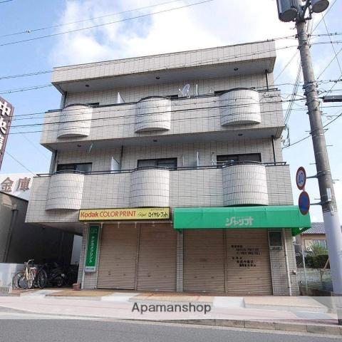 京都府京都市北区、北山駅徒歩26分の築30年 3階建の賃貸マンション