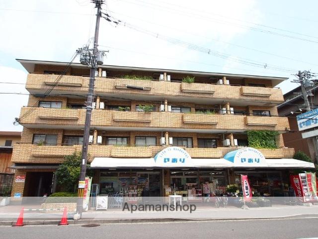 京都府京都市左京区、岩倉駅徒歩17分の築30年 4階建の賃貸マンション