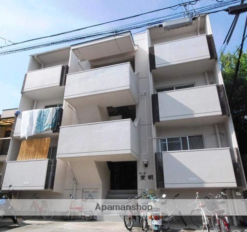 京都府京都市北区、北大路駅徒歩5分の築33年 3階建の賃貸マンション