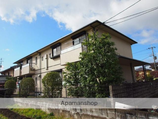 京都府京都市左京区、岩倉駅徒歩7分の築20年 2階建の賃貸アパート