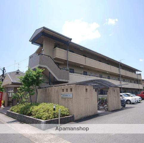 京都府京都市左京区、木野駅徒歩13分の築22年 3階建の賃貸マンション