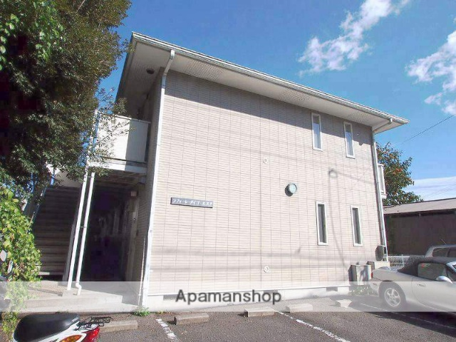 京都府京都市北区、二軒茶屋駅徒歩42分の築23年 2階建の賃貸アパート