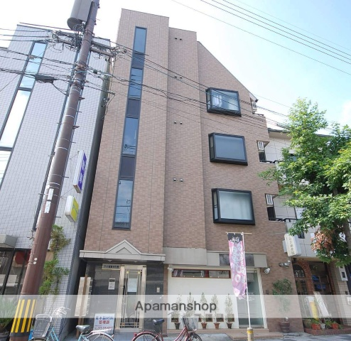京都府京都市北区、北大路駅徒歩13分の築20年 5階建の賃貸マンション
