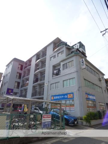 大阪府吹田市、関大前駅徒歩17分の築36年 5階建の賃貸マンション