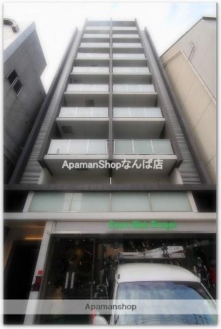 大阪府大阪市西区、なんば駅徒歩10分の築10年 10階建の賃貸マンション