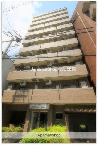 大阪府大阪市西区、四ツ橋駅徒歩12分の築18年 11階建の賃貸マンション