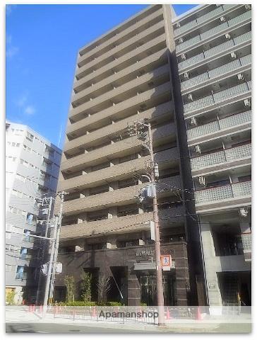 大阪府大阪市西区、四ツ橋駅徒歩10分の築4年 13階建の賃貸マンション
