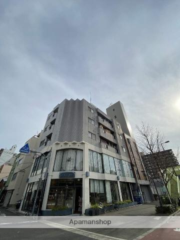 大阪府大阪市西区、四ツ橋駅徒歩12分の築26年 5階建の賃貸マンション
