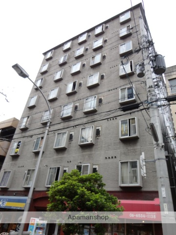 大阪府大阪市西区、ドーム前駅徒歩7分の築31年 8階建の賃貸マンション