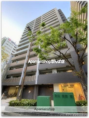 大阪府大阪市中央区、近鉄日本橋駅徒歩6分の新築 15階建の賃貸マンション