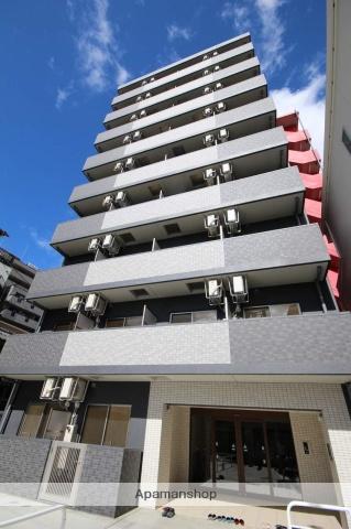 大阪府大阪市西成区、新今宮駅徒歩10分の新築 9階建の賃貸マンション
