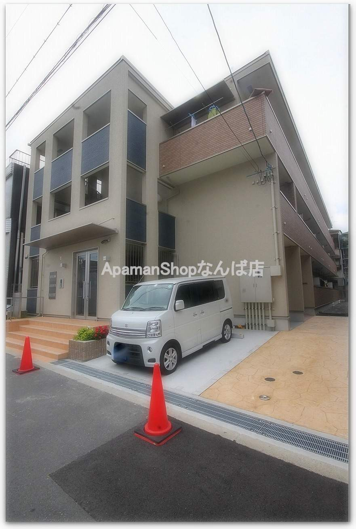 大阪府大阪市浪速区、芦原橋駅徒歩10分の新築 3階建の賃貸アパート