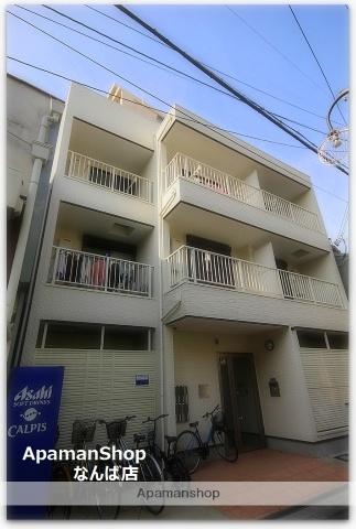 大阪府大阪市西成区、萩ノ茶屋駅徒歩3分の築2年 3階建の賃貸アパート
