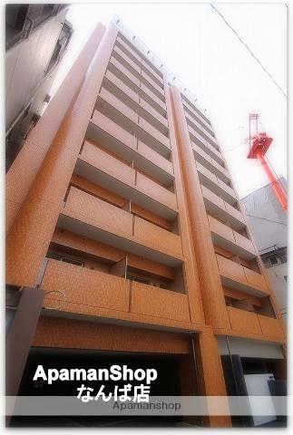 大阪府大阪市中央区、大阪難波駅徒歩9分の築2年 10階建の賃貸マンション