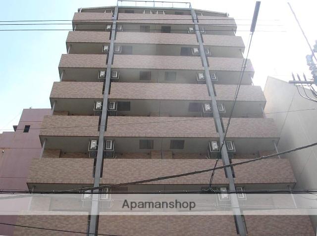 大阪府大阪市中央区、天満橋駅徒歩4分の築14年 11階建の賃貸マンション