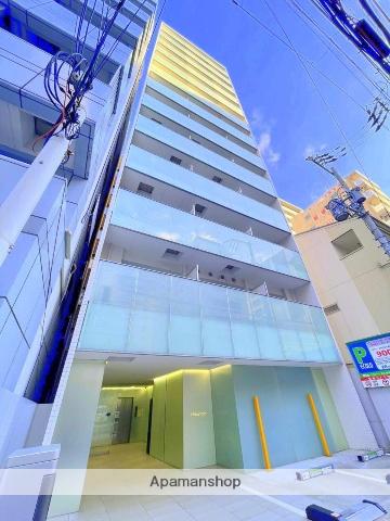 大阪府大阪市中央区、谷町四丁目駅徒歩4分の築5年 13階建の賃貸マンション