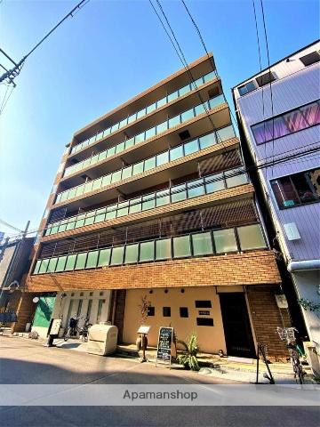 大阪府大阪市中央区、なにわ橋駅徒歩9分の築17年 6階建の賃貸マンション