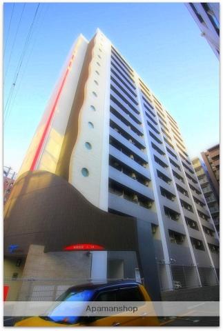 大阪府大阪市中央区、淀屋橋駅徒歩13分の築3年 15階建の賃貸マンション