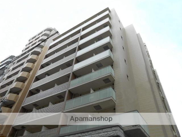 大阪府大阪市中央区、なにわ橋駅徒歩10分の築3年 10階建の賃貸マンション