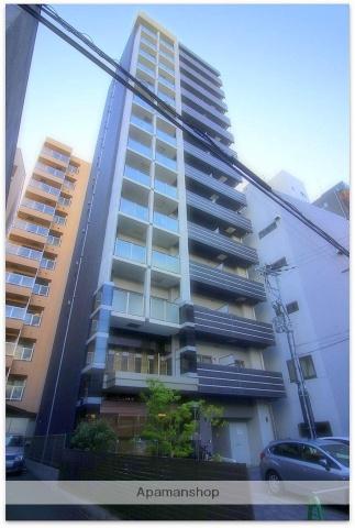 大阪府大阪市中央区、天満橋駅徒歩19分の築3年 14階建の賃貸マンション