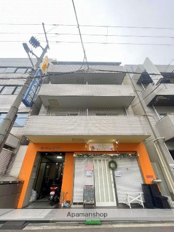 大阪府大阪市中央区、鶴橋駅徒歩14分の築30年 8階建の賃貸マンション