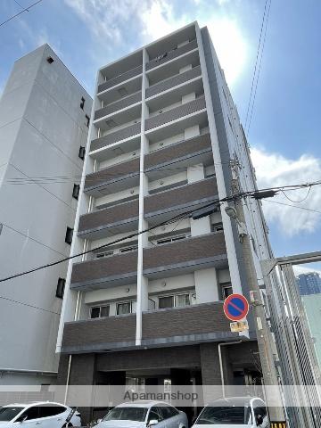 大阪府大阪市北区、福島駅徒歩14分の築3年 8階建の賃貸マンション