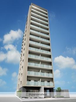 大阪府大阪市中央区、淀屋橋駅徒歩9分の築1年 15階建の賃貸マンション