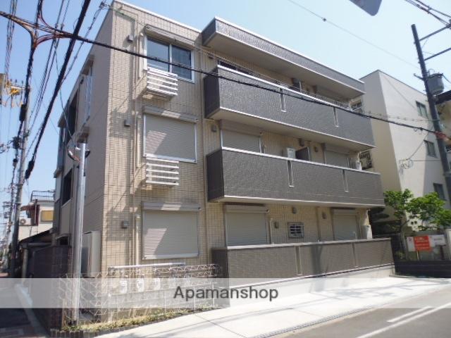 大阪府大阪市旭区、森小路駅徒歩12分の築1年 3階建の賃貸アパート