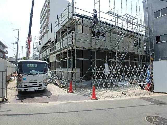 大阪府大阪市城東区、鴫野駅徒歩14分の新築 3階建の賃貸アパート