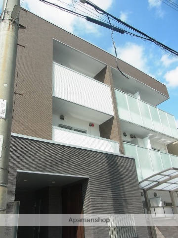 大阪府大阪市鶴見区、今福鶴見駅徒歩17分の新築 3階建の賃貸マンション