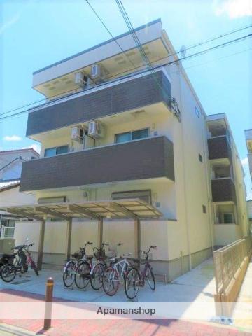 大阪府大阪市旭区、滝井駅徒歩17分の新築 3階建の賃貸アパート