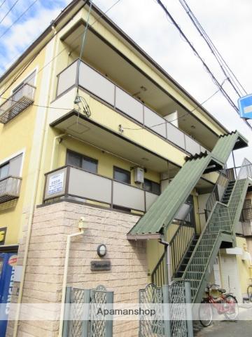 大阪府大阪市城東区、鴫野駅徒歩3分の築24年 3階建の賃貸アパート