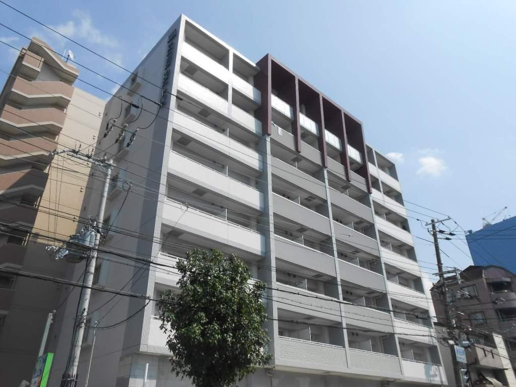 大阪府大阪市都島区、大阪城北詰駅徒歩3分の築10年 8階建の賃貸マンション