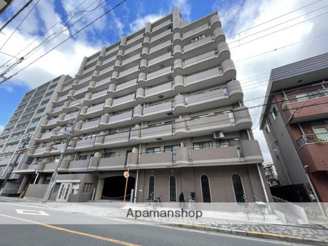 大阪府大阪市都島区、京橋駅徒歩14分の築21年 10階建の賃貸マンション