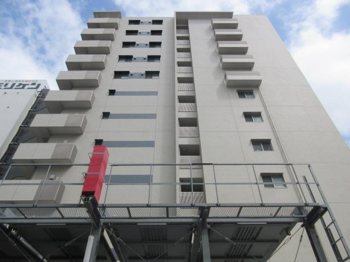 大阪府大阪市城東区、関目駅徒歩9分の築8年 11階建の賃貸マンション