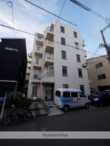 大阪府大阪市福島区、福島駅徒歩9分の築27年 5階建の賃貸マンション