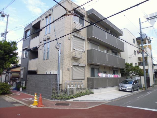 大阪府大阪市旭区、千林駅徒歩18分の築3年 3階建の賃貸アパート